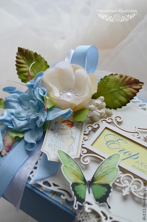 Подарки для новорожденных, ручной работы. Ярмарка Мастеров - ручная работа. Купить «Мамины сокровища» для Егора. Handmade. Мамины сокровища