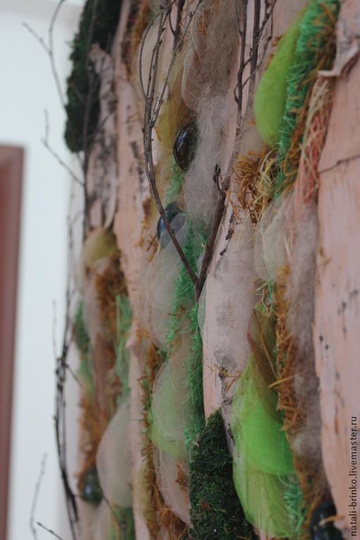 Панно флористические  натуральные 2 шт. Весна. Березы. Русь, Композиции, Иркутск,  Фото №1