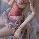 Коллекционные куклы ручной работы. Заказать Розетта, шарнирная кукла. Елена Акимова (Elena-Aki). Ярмарка Мастеров. Шарнирные куклы