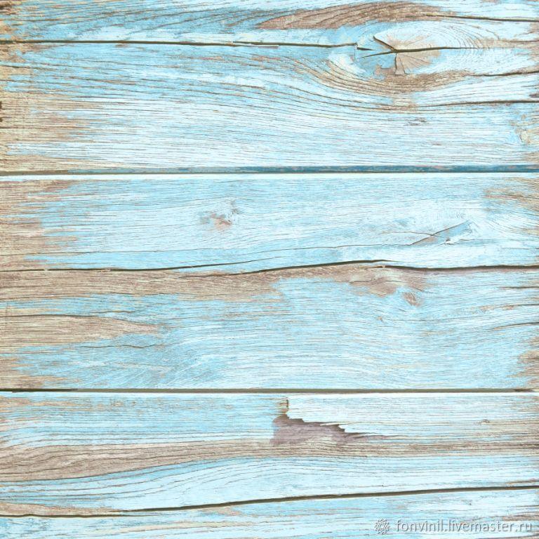 Виниловый фон 50х50 Деревянный, Цветной, Фотофоны, Челябинск,  Фото №1