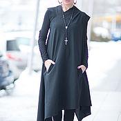 Одежда handmade. Livemaster - original item Woolen, stylish dress-KA0330CW. Handmade.