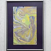 Картины и панно ручной работы. Ярмарка Мастеров - ручная работа живопись на воде 20. Handmade.