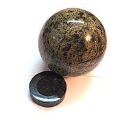 Для дома и интерьера ручной работы. Ярмарка Мастеров - ручная работа Каменный шар змеевик. Handmade.