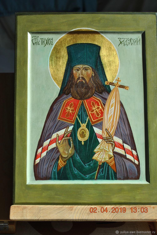 Икона святителя Тихона Задонского, Иконы, Переславль-Залесский,  Фото №1