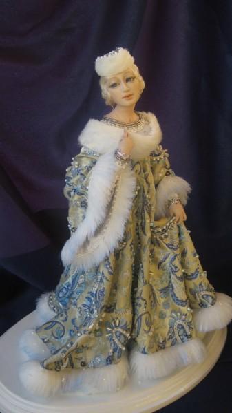 Интерьерная кукла Зимушка, Мягкие игрушки, Краснодар,  Фото №1