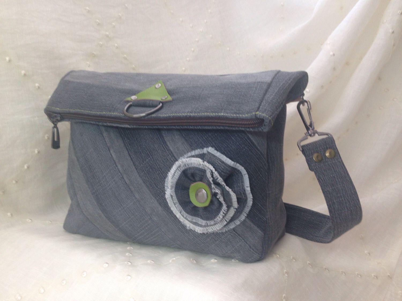 15dd4c2431be Женские сумки ручной работы. Ярмарка Мастеров - ручная работа. Купить Джинсовая  сумка-рюкзак ...