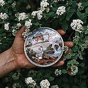 Винтаж handmade. Livemaster - original item Box Coalport Waterfall England. Handmade.