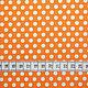 """Шитье ручной работы. Хлопок """"Горошки"""" (оранжевый фон). Лоскутная радуга (Наташа). Интернет-магазин Ярмарка Мастеров. Хлопок"""