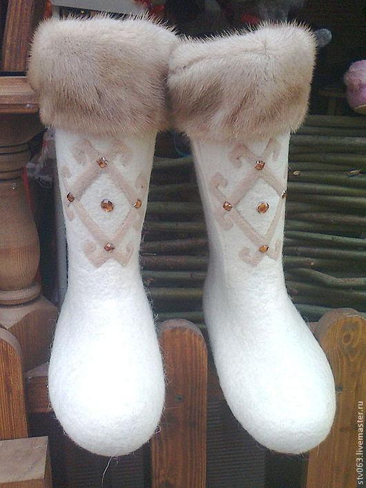 """Обувь ручной работы. Ярмарка Мастеров - ручная работа. Купить Валенки """"Боярские"""". Handmade. Обувь ручной работы, обувь на заказ"""