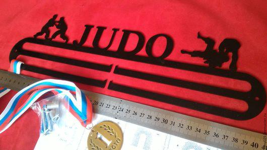 Мебель ручной работы. Ярмарка Мастеров - ручная работа. Купить Дзюдо - Медальница для спортсмена. Handmade. Медальница, медалер, вешалка, для наград