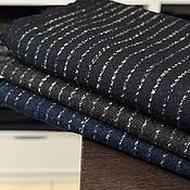 Материалы для творчества handmade. Livemaster - original item Italian tweed fabric
