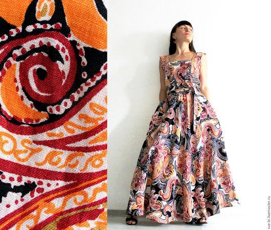льняное платье в пол платье с юбкой полусолнце платье длинное на лето платье льняное длинное платье полусолнце летнее платье в пол длинное платье в пол пояс кушак лен 100% лен итальянский лен