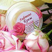 Косметика ручной работы handmade. Livemaster - original item Lifting cream ROSE. Handmade.