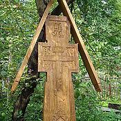 Подарки к праздникам ручной работы. Ярмарка Мастеров - ручная работа Крест могильный. Handmade.