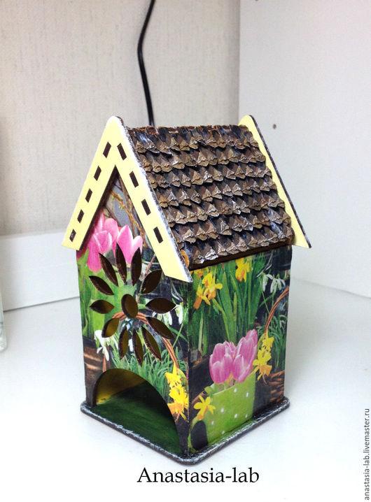 """Кухня ручной работы. Ярмарка Мастеров - ручная работа. Купить Чайный домик """"Первоцветы"""". Handmade. Подарок на 8 марта"""