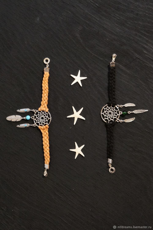 Bracelet braided: Bracelet Dreamcatcher, Braided bracelet, Godsend,  Фото №1