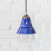 Потолочные и подвесные светильники ручной работы. Ярмарка Мастеров - ручная работа Светильник подвесной из керамики. Handmade.