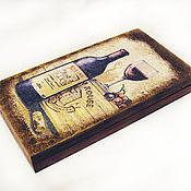 """Для дома и интерьера ручной работы. Ярмарка Мастеров - ручная работа Купюрница """"Коллекционное"""". Handmade."""
