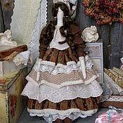 Куклы и игрушки ручной работы. Ярмарка Мастеров - ручная работа Интерьерная кукла в стиле тильда Аделина. Handmade.