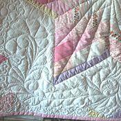 Blankets handmade. Livemaster - original item Quilted, patchwork baby blanket