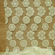 Материалы для творчества ручной работы. Ярмарка Мастеров - ручная работа 169 Кружевная ткань. Handmade.