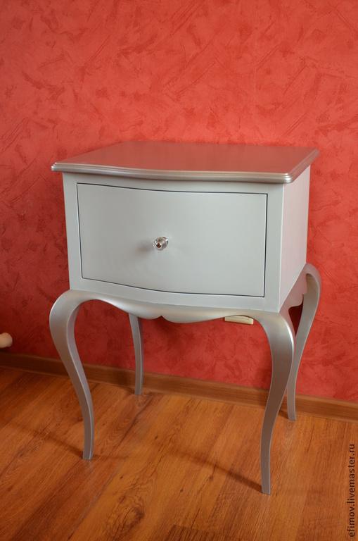 Мебель ручной работы. Ярмарка Мастеров - ручная работа. Купить Тумба Ольга 2. Handmade. Серый, тумба из массива
