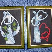 """Картины и панно ручной работы. Ярмарка Мастеров - ручная работа Картины """"Линия жизни"""". Handmade."""