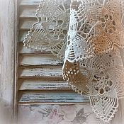 Для дома и интерьера ручной работы. Ярмарка Мастеров - ручная работа Квадратная салфетка из мотивов. Handmade.