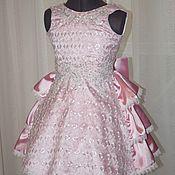 Работы для детей, ручной работы. Ярмарка Мастеров - ручная работа Нарядное платье 3. Handmade.