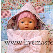 Куклы и игрушки ручной работы. Ярмарка Мастеров - ручная работа Конверт для  куклы беби бон. Handmade.