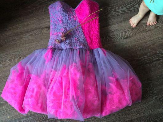 Платья ручной работы. Ярмарка Мастеров - ручная работа. Купить Платье с перьями. Handmade. Платье, платье на заказ, короткое платье