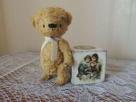 Мишки Тедди ручной работы. Ярмарка Мастеров - ручная работа. Купить Малыш Вилли. Handmade. Мишка тедди, сделано с любовью