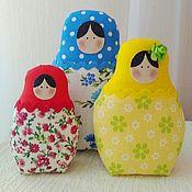 Куклы и игрушки ручной работы. Ярмарка Мастеров - ручная работа Тильда Матрешки. Handmade.