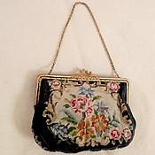 Сумки винтажные ручной работы. Ярмарка Мастеров - ручная работа Винтажный фермуар, застежка, рамка для сумочки, латунь. Handmade.