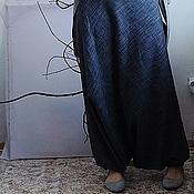 Одежда ручной работы. Ярмарка Мастеров - ручная работа Джинсовые штанишки алладины. Handmade.