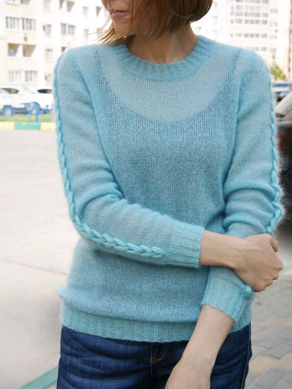 Sweater mohair icicle, Jumpers, Voronezh,  Фото №1