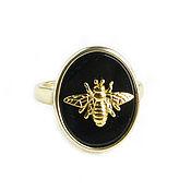 Украшения handmade. Livemaster - original item Black onyx ring