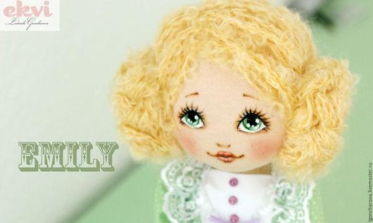 Человечки ручной работы. Ярмарка Мастеров - ручная работа. Купить Авторская кукла Эмили. Handmade. Кукла ручной работы, подарок