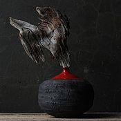 """Вазы ручной работы. Ярмарка Мастеров - ручная работа Проект """"Вулкан"""". Handmade."""