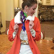 """Одежда ручной работы. Ярмарка Мастеров - ручная работа Пальто утепленное """" Faire foxe"""" бронь.. Handmade."""