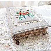 """Блокноты ручной работы. Ярмарка Мастеров - ручная работа Блокнот ручной работы """"Чайные розы"""". Handmade."""