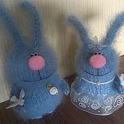 Куклы и игрушки handmade. Livemaster - original item Newly married. Wedding couple. Knitted toys.. Handmade.