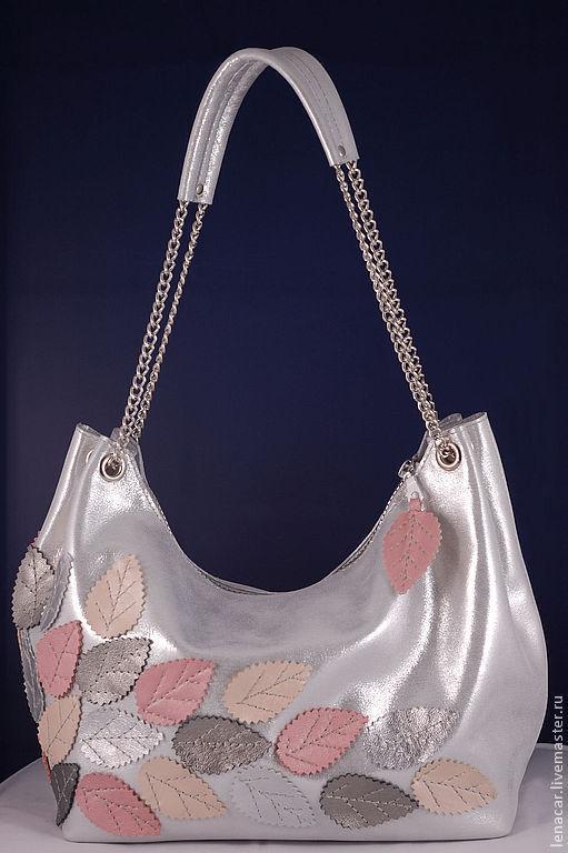 Женские сумки ручной работы. Ярмарка Мастеров - ручная работа. Купить Женская кожаная сумка 185. Handmade. Однотонный