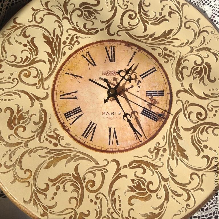 953bd5283f94 Часы для дома ручной работы. Ярмарка Мастеров - ручная работа. Купить  Настенные часы Вальс ...