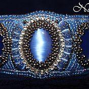 """Украшения ручной работы. Ярмарка Мастеров - ручная работа Браслет """"Blue lace"""". Handmade."""