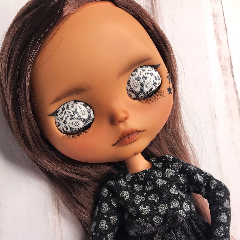интересный раскрас глаз куклам фото