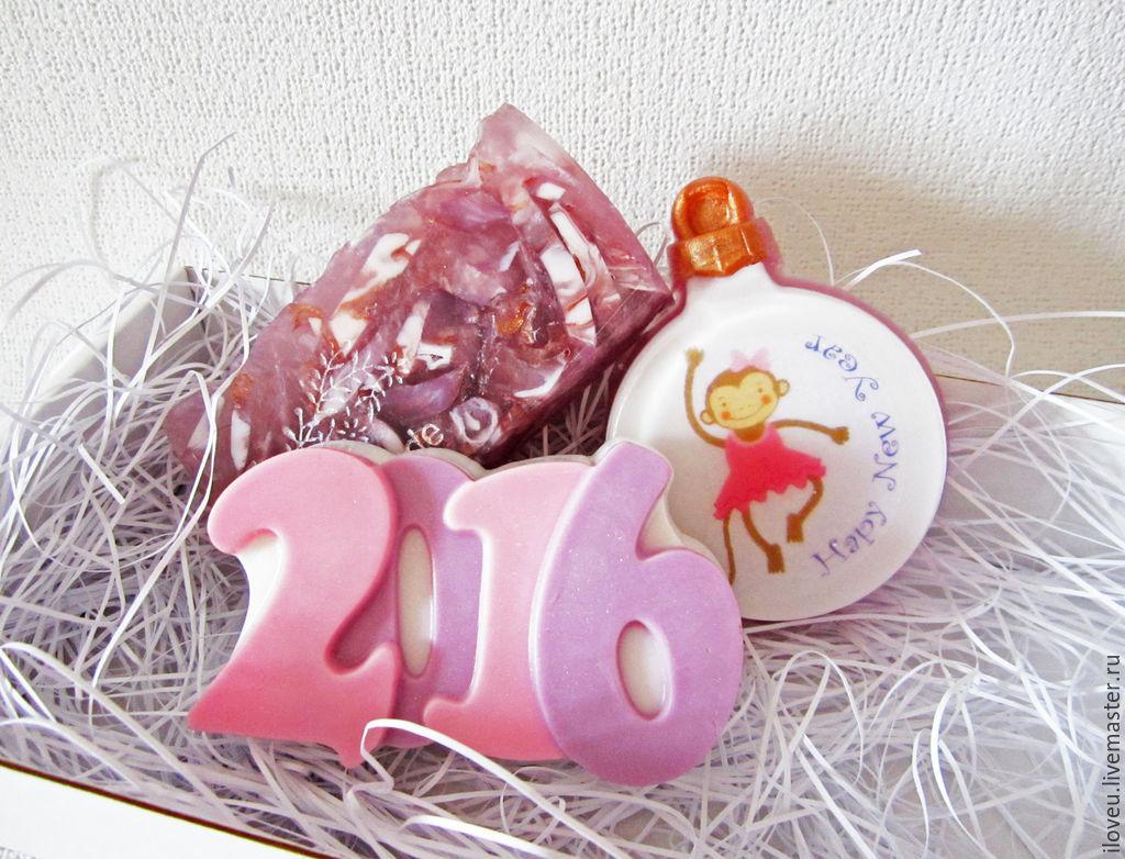 Мыло к новому году своими руками фото