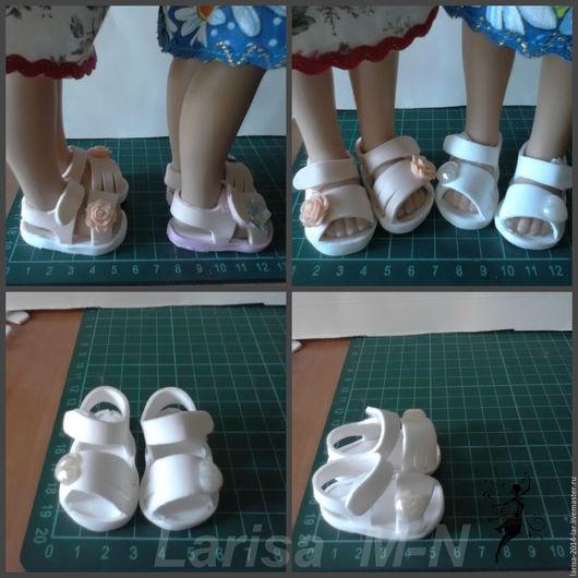 Одежда для кукол ручной работы. Ярмарка Мастеров - ручная работа. Купить Обувь для кукол   паулок .. Handmade. Комбинированный, подарок для детей