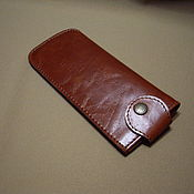 Сумки и аксессуары handmade. Livemaster - original item Eyeglass case leather. case for glasses. Glasses case.. Handmade.