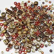 Материалы для творчества handmade. Livemaster - original item 10g Toho MIX 3205 Bronze Japanese beads TOHO Ocha Bronze Mix. Handmade.